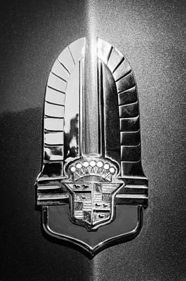 1941 Photograph - 1941 Cadillac Emblem by Jill Reger