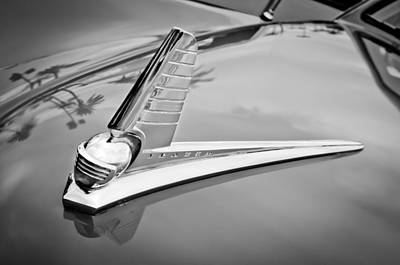 Photograph - 1947 Kaiser-frazer Hood Ornament by Jill Reger
