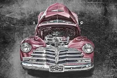 Vintage Chevy Photograph - 1948 Chevy 2100 Fk Fleetmaster by Lesa Fine