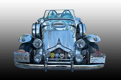 Allard Photograph - 1950 Allard J2-x Roadster by Dave Koontz