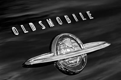 Photograph - 1950 Oldsmobile 88 Emblem by Jill Reger