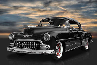 Custom Chevrolet Deluxe Photograph - 1952 Chevrolet Deluxe by Frank J Benz