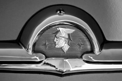 Photograph - 1953 Mercury Monterey Emblem by Jill Reger