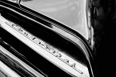 Photograph - 1953 Studebaker Champion Starliner Grille Emblem by Jill Reger