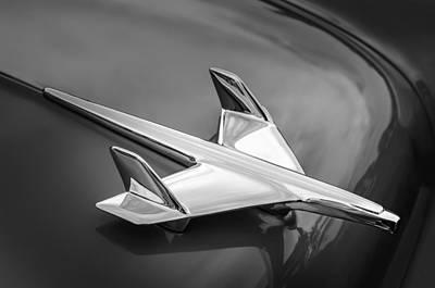 1955 Chevrolet 210 Resto Mod Hood Ornament Art Print