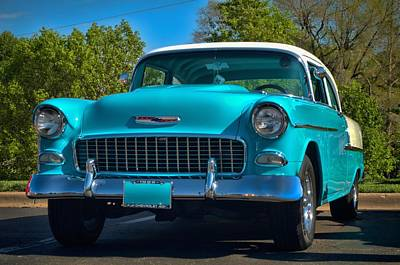 Photograph - 1955 Chevrolet by Tim McCullough