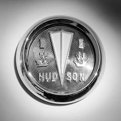 Photograph - 1956 Hudson Rambler Station Wagon Hood Ornament - Emblem by Jill Reger