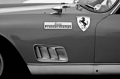 Photograph - 1957 Ferrari 250 Gt Lwb Scaglietti Berlinetta  by Jill Reger