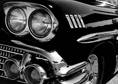 1958 Chevy Impala Art Print