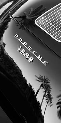 Photograph - 1959 Porsche 356 A 1600 Convertible D Rear Emblem by Jill Reger