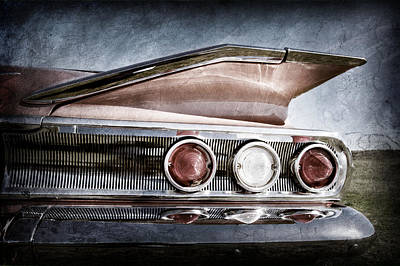 Photograph - 1960 Chevrolet Impala Resto Rod Taillight by Jill Reger