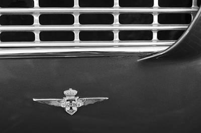 Photograph - 1962 Maserati 3500 Gt Emblem by Jill Reger