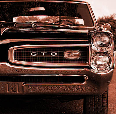 Photograph - 1966 Pontiac Gto by Gordon Dean II
