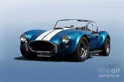 Go For Gold - 1966 Shelby Cobra by Dave Koontz