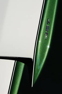Photograph - 1967 Chevrolet Corvette 427 Hood Emblem by Jill Reger