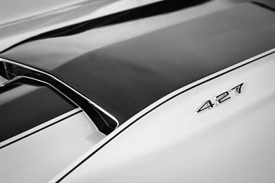 1967 Chevrolet Corvette Coupe Hood Emblem Art Print