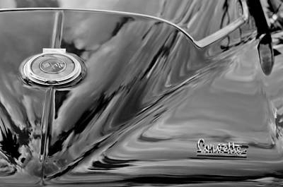 Photograph - 1967 Chevrolet Corvette Rear Emblem by Jill Reger
