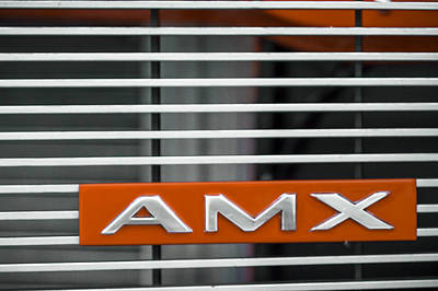 Photograph - 1969 Amc Amx by Ron Pate