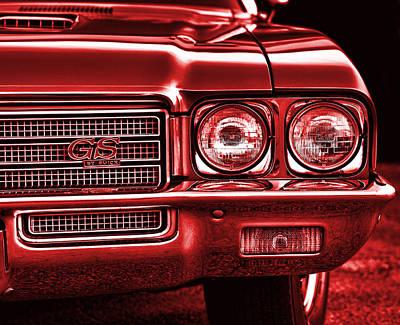 Photograph - 1971 Buick Gs by Gordon Dean II