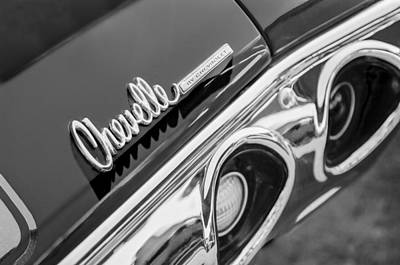 Photograph - 1972 Chevrolet Chevelle Taillight Emblem by Jill Reger