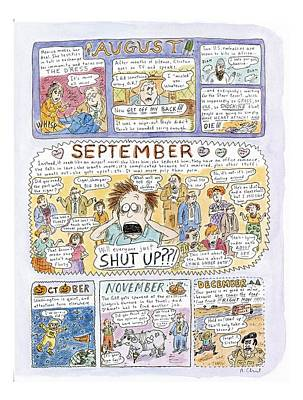 Kathleen Drawing - 1998: A Look Back by Roz Chast