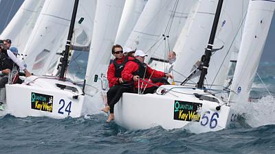 Photograph - 2014 Key West Race Week by Steven Lapkin