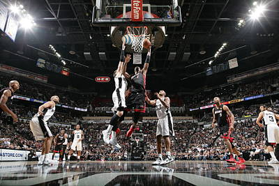 Photograph - 2014 Nba Finals - Game Two by Nathaniel S. Butler