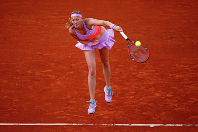 Photograph - 2015 French Open - Day Nine by Julian Finney