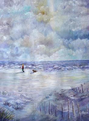 Painting - 34th St. Beach by Loretta Luglio