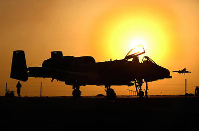 Nato Photograph - A-10 Thunderbolt II by Celestial Images