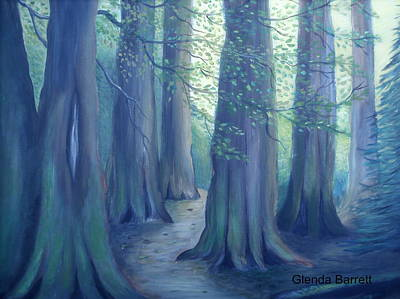 Painting - A Morning Stroll by Glenda Barrett
