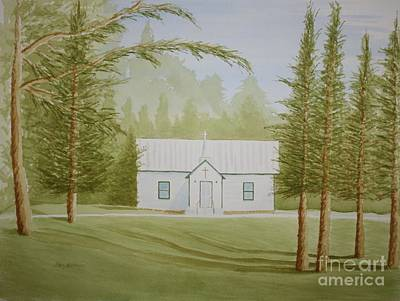 Painting - A North Carolina Church by Stacy C Bottoms