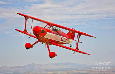 A Pitts Special S-2a Aerobatic Biplane Art Print