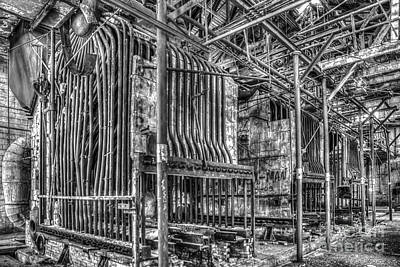 Abandoned Steam Plant Art Print