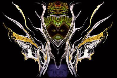Abstract 94 Art Print by J D Owen