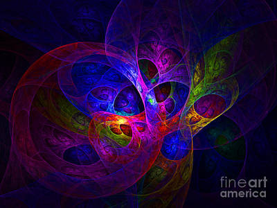 Abstract Graphics - Abstract artistic conceptual fantasy digital illustration by Indian Summer