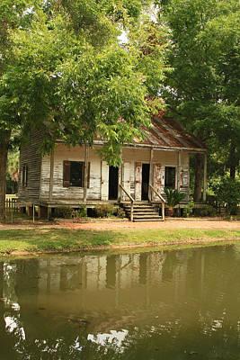 Acadian Village Lafayette Louisiana Art Print