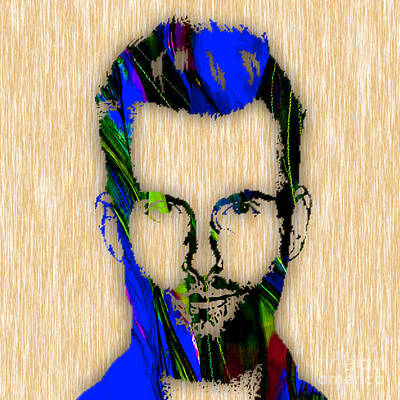 Musicians Mixed Media - Adam Levine by Marvin Blaine