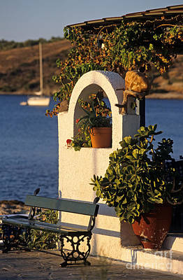 Photograph - Agia Marina Town  by George Atsametakis