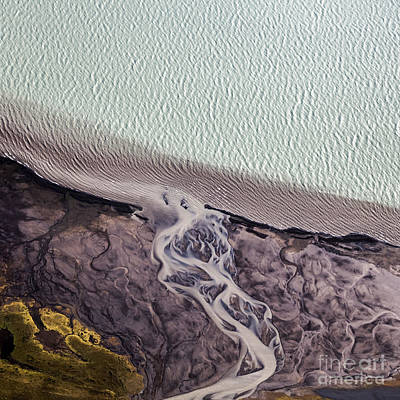 Art Print featuring the photograph Aerial Photography by Gunnar Orn Arnason