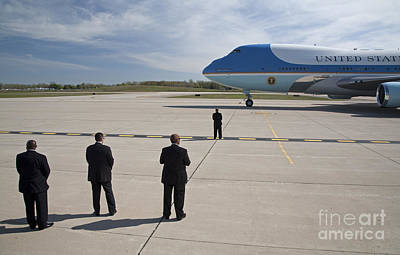 Photograph - Air Force One by Jim West