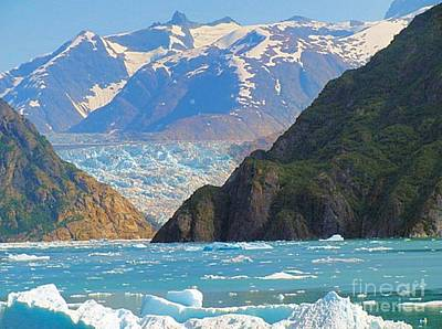 Photograph - Alaska Tracy Arm Fjord by Janette Boyd