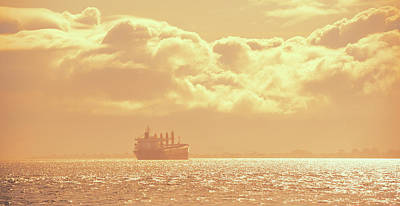 Photograph - Alcatraz Island by Songquan Deng