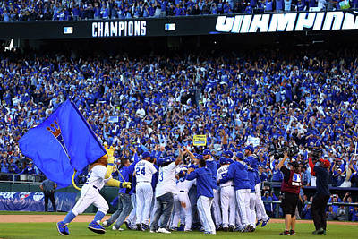 Photograph - Alcs - Baltimore Orioles V Kansas City by Dilip Vishwanat