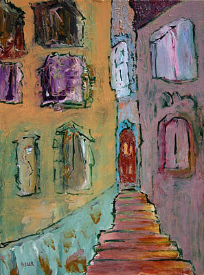 Painting - Alfama  by Oscar Penalber