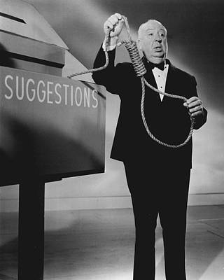 Alfred Hitchcock Art Print by Retro Images Archive