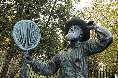 Alfred Russel Wallace Statue Art Print