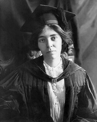 Photograph - Alice Paul (1885-1977) by Granger
