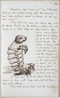 Alice's Adventures In Wonderland Art Print