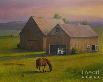 Painting - All Things Retired by Al Hunter